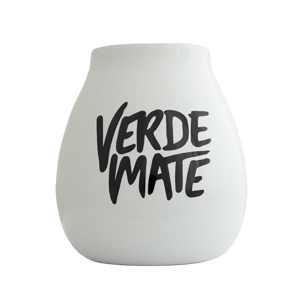 Ceramic Calabash  - Verde Mate 350ml